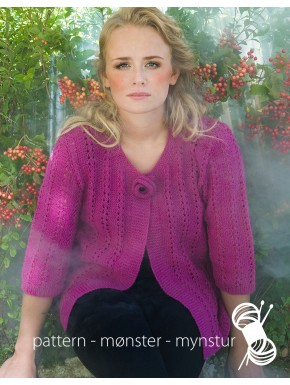Cardigan With Flower