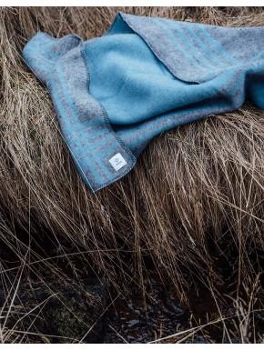 Tæppe blå
