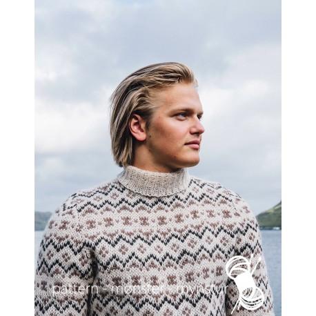 Færøesk trøje til mænd