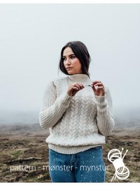 Hvid sweater