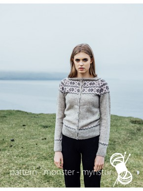 Cardigan with Pattern