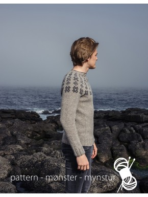 Sweater with faroese pattern