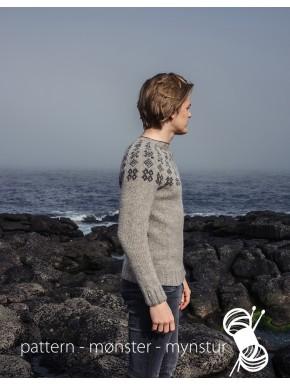Trøje med færøsk mønster