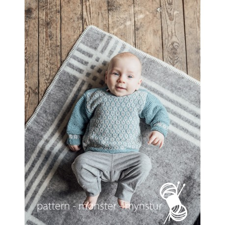 Sweater with patterns