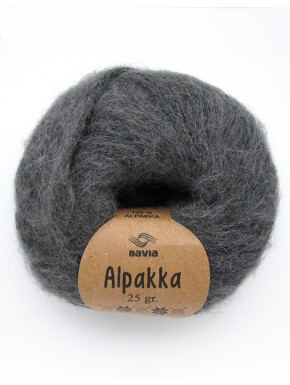 Alpakka mellemgrå