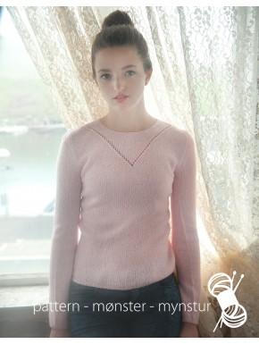 Blød bluse