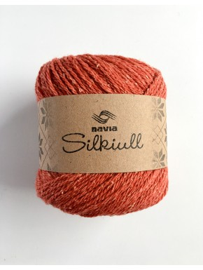 Silk Wool Dark Amber