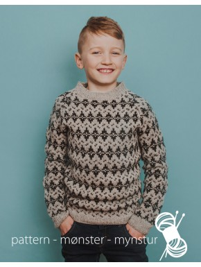 Patterned Sweater for boys