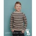 Mønstret trøje til drenge