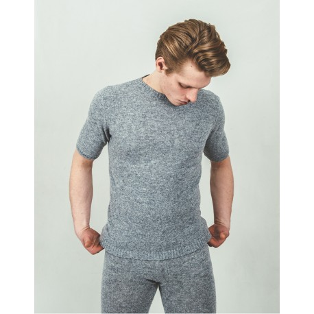 Undershirt With Short Sleeves