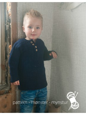 Boy´s Sweater With Buttons