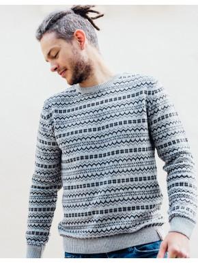 G! Festival Sweater Light Grey