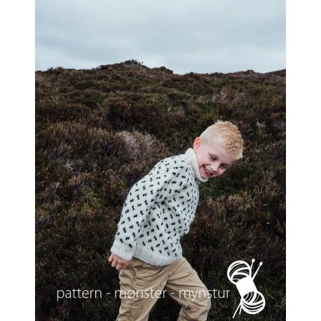 Mønstret trøje til børn