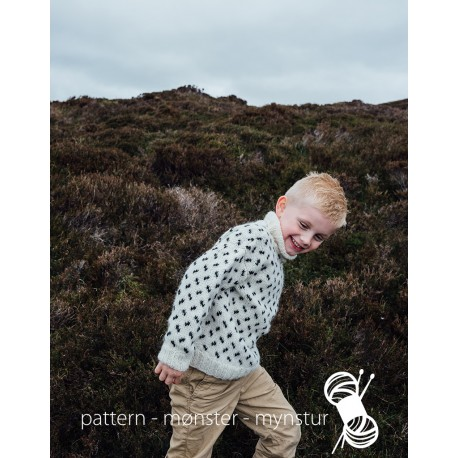 Sweater with pattern for Kids