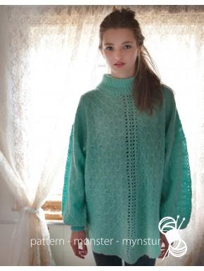 Mint grøn trøje