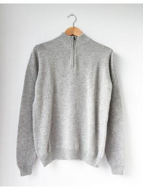 Grey basic with Zip