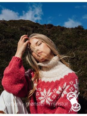 Sweater med stjerner