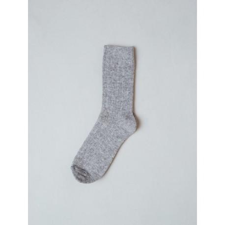 Lysgrå sokker