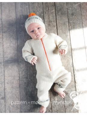 Babydragt med hue