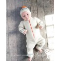 Baby's Jumpsuit with Hat