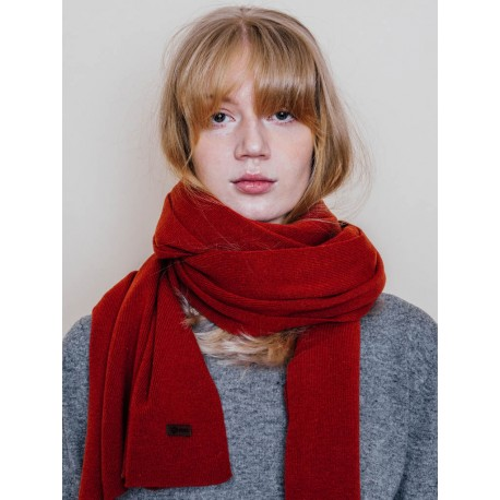 Rusty Red Scarf