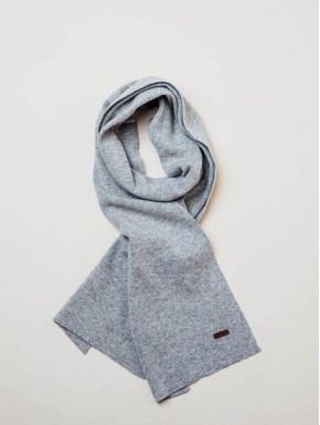 Lightgrey Scarf Men