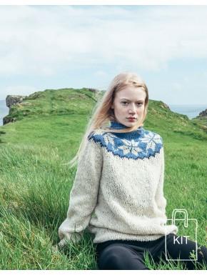 Sweater med stjerner KIT