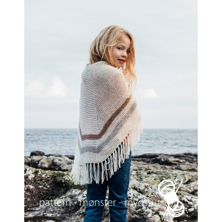 Faroese Shawl with Stribes