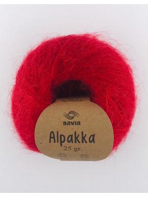 Alpakka Rødt