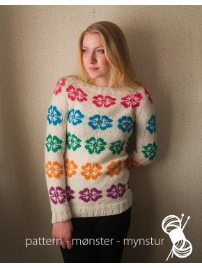 Jumper With Flowers