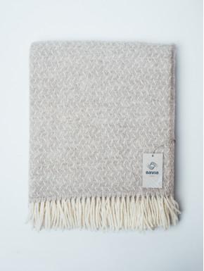 Sand vævet tæppe