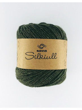 Silkeuld Mørkegrøn