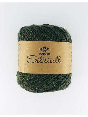 Silkiull Myrkt Grønt