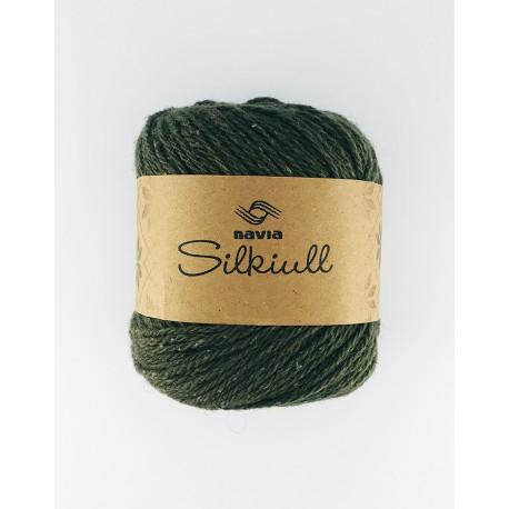 Silkwool Dark Green