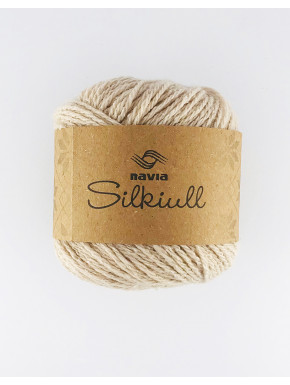 Silke uld Sand