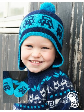 Hat and Mittens for Boys