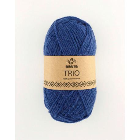 Trio denim blå