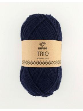Trio marineblå