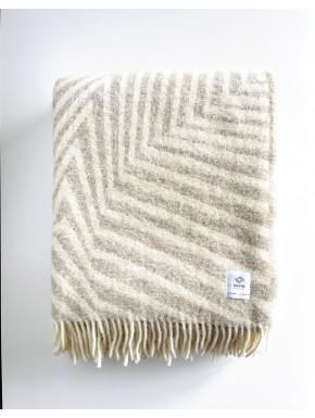 Sand stribet tæppe