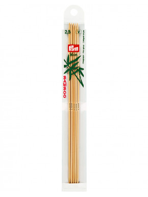 Bamboo Knitting Needles 2,5mm 20cm