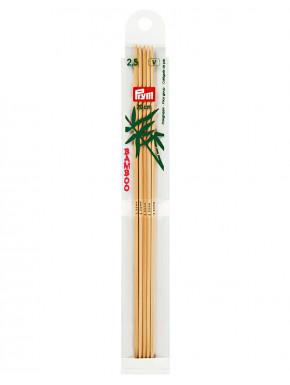Bambus Strikkepinder 2,5mm 20cm