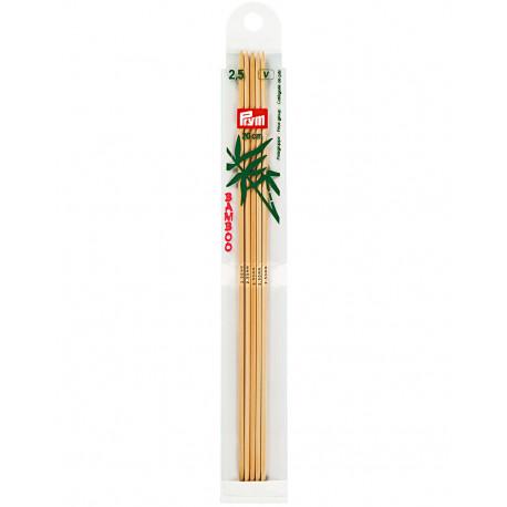 Bambus ermastokkur 2,5mm 20cm