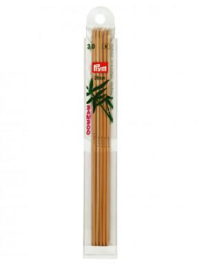 Bambus Strikkepinder 3mm 20cm