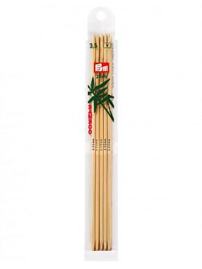 Bambus Strikkepinder 3,5mm 20cm