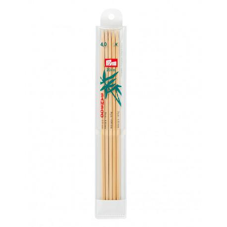 Bambus ermastokkur 4mm 20cm