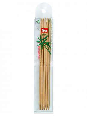 Bamboo Knitting Needles 4,5mm 20cm