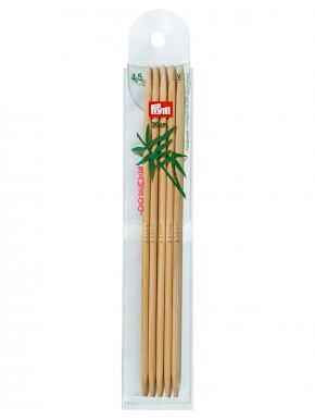 Bambus Strikkepinder 4,5mm 20cm