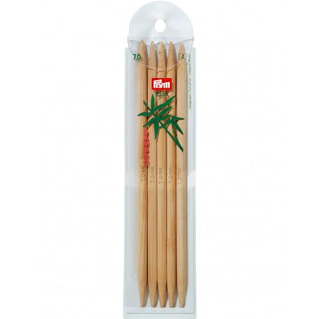 Bambus ermastokkur 7mm 20cm