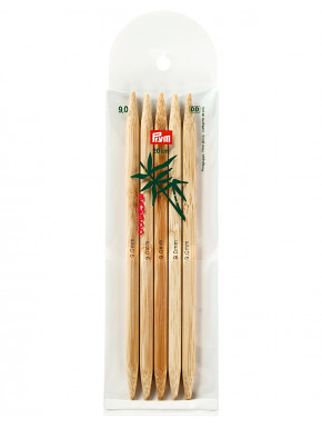 Bambus Strikkepinder 9mm 20cm