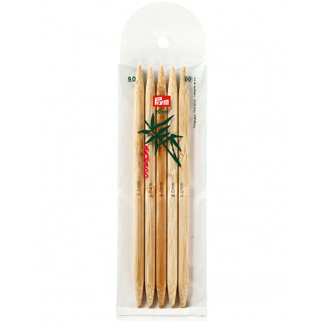 Bambus ermastokkur 9mm 20cm